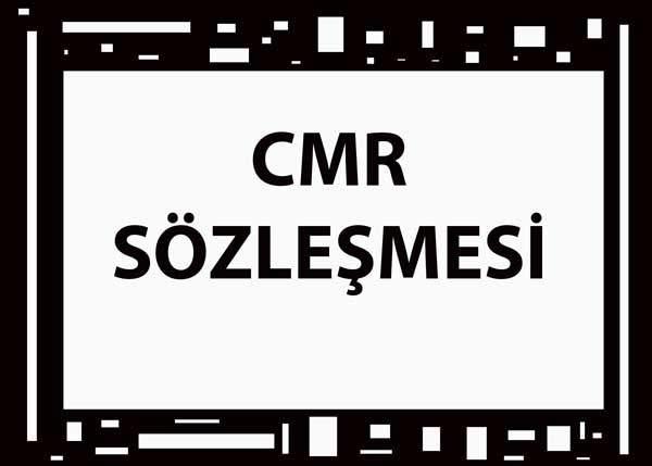 CMR SÖZLEŞMESİ 11