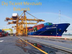 Dış Ticaret Bakanlık