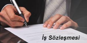 iş sözleşmesi