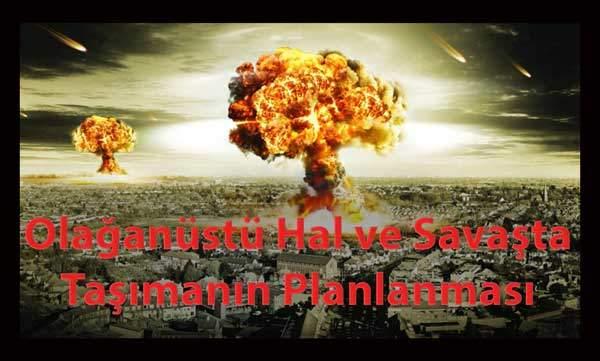 Olağanüstü Hal ve Savaşta Taşımanın Planlanması 52