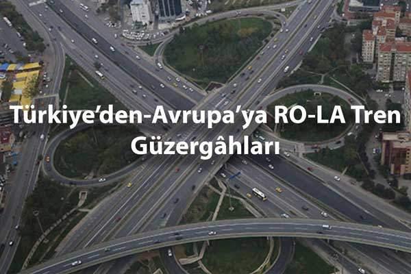 Türkiye'den-Avrupa'ya RO-LA Tren Güzergâhları 52