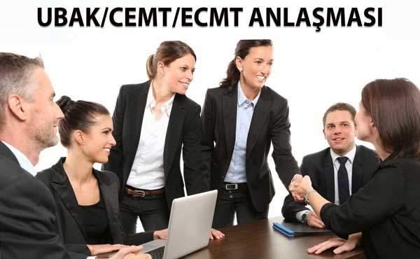 UBAK/CEMT/ECMT ANLAŞMASI 8